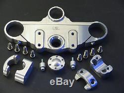 Superbike Lenker Kit m X-Bar/Fatbar/Booster Lenker TRIUMPH Daytona 955 i ab 2004