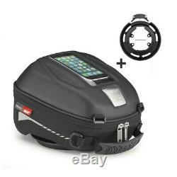 System Tank Bag Set Givi ST602 Triumph Daytona 955i 99-06 + Ring BF02