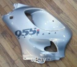 T2302872-MH 2001 TRIUMPH 955i DAYTONA LEFT SIDE FAIRING LIGHTNING ALUMINIUM