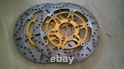 TRIUMPH 955 955i Sprint RS ST T595 Daytona EBC Front Brake Discs MD647X