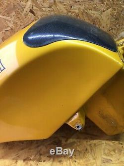 TRIUMPH 955 955i T595 Daytona Speed Triple Fuel Petrol Tank Strontium Yellow