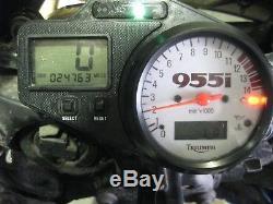 TRIUMPH 955i DAYTONA 2001 ENGINE 24000 miles
