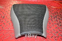 TRIUMPH DAYTONA 955i (2001) PAIR OF RE-COVERED RE-TRIMMED SEATS