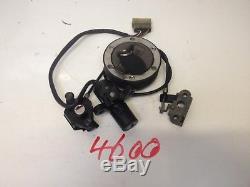TRIUMPH DAYTONA 955i 2002 IGNITION LOCK SET SPEED TRIPLE T2501036 NO/4600
