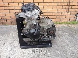 TRIUMPH DAYTONA 955i ENGINE 147 bhp RUNNING LOW MILEAGE ON VIDEO NO/4587