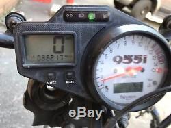 TRIUMPH DAYTONA 955i ENGINE 147 bhp RUNNING LOW MILEAGE ON VIDEO NO/4682