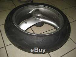 TRIUMPH DAYTONA T 595, 955 i, Rim Rear, Rear Wheel Rim, 6,00x17 Inch, tyres