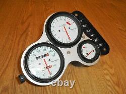 TRIUMPH DAYTONA T595 (955i) OEM UK SPEC SPEEDO CLOCKS TACHO 33K MILES 1997-1998