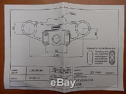 TRIUMPH Daytona 955i T595 1999-01 SPIEGLER Superbike Gabelbrücke Umbau top yoke