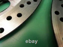 TRIUMPH FRONT BRAKE DISCs 6 stud t509 955I DAYTONA SPEED TRIPLE disc 351