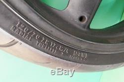 TRIUMPH FRONT WHEEL TYRE 5 stud t509 955I 600 DAYTONA SPEED TRIPLE FOUR #0142