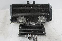 TRIUMPH T 595 955 I DAYTONA RADIATOR & OIL COOLER ASSEMBLY With FAN HOSES 97-06