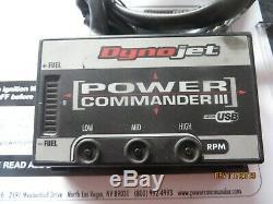 TRIUMPH T595 955i Daytona 955 Speed Triple Power Commander 3 USB ALL YEARS
