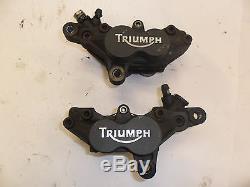Triumph 01 2001 Daytona 955i 955 Oem Front Brake Caliper Calipers