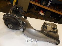 Triumph 01 Daytona 955i 955 Single Sided Swingarm Arm Brake Caliper Rotor Axle