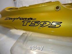 Triumph 1997 t595 955i Daytona Rear Seat Fairing Cover Fender Cowl