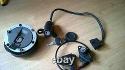 Triumph 955 955i Daytona Sprint Tiger TT600 lock set ignition lock seat & tank