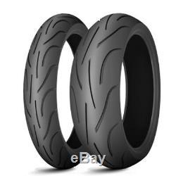 Triumph 955 Daytona T595 955i 1999 Michelin Pilot Power 2CT Front Rear Tyre