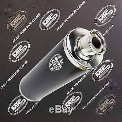 Triumph 955i DAYTONA 01-06 Black round Single outlet