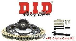 Tool Triumph 955i Daytona 04-06 DID /& JT Chain And Sprocket Kit