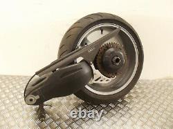 Triumph 955i Daytona 2006 complete single side swing arm & rear wheel 2001 2006