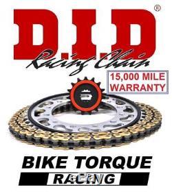 Triumph 955i Daytona 99-00 DID Silent Chain And Sprocket Kit + Tool