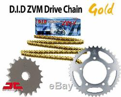 Triumph 955i Daytona Special 2004 DID GOLD X-Ring Chain and Sprocket Kit
