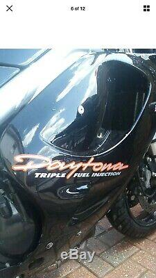 Triumph 955i Daytona T595 Fairings Black