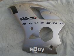 Triumph 955i Daytona, carrosserie carénage CARRENAGE LATERAL, flanc gauche L/H