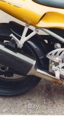 Triumph Daytona / 509 / 595 / 955i Rear Hugger carbon fibre 07601