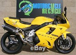Triumph Daytona 955 955i 2003 Rear Swingarm Disc Sprocket Slider 597