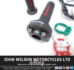Triumph Daytona 955 i 2000 Domino XM2 Quick Action Throttle Kit Red