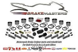 Triumph Daytona 955 i front brake caliper piston seal rebuild kit 1998 1999 2000
