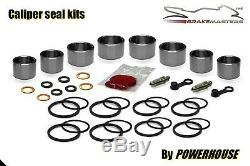 Triumph Daytona 955 i front brake caliper piston seal repair kit 2003 2004 set