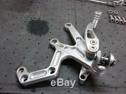 Triumph Daytona 955i 02-06 rizoma Rearset Rearset Pegs Pedals Levers aftermarket