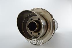 Triumph Daytona 955i 02-07 SP Engineering Carbon Fibre Round Moto GP XLS Exhaust