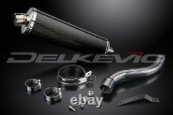 Triumph Daytona 955i 18 Carbon Oval Muffler Exhaust Slip On 01-06