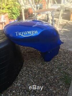 Triumph Daytona 955i 2001/2007 Fuel Petrol Gas Tank Blue