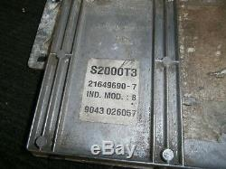 Triumph Daytona 955i 2001 ECU S2000T3 216490-7 ind. MOD B 903406057