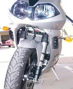 Triumph Daytona 955i 2002-2008 Radiator / Oil Guard RAD GUARD Black or ALLOY