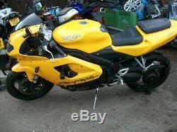 Triumph Daytona 955i 2006 Engine (breaking Whole Bike)