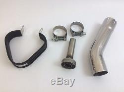 Triumph Daytona 955i 97-01 Demon Slash Carbon Fibre Tri-Oval XL Exhaust End Can