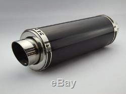 Triumph Daytona 955i 97-01 Demon Slash Satin Black Stubby Exhaust End Can