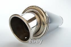 Triumph Daytona 955i 97-01 SP Engineering Satin Black Round Big Bore XLS Exhaust