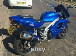Triumph Daytona 955i Blueflame Motorcycle Exhaust Can