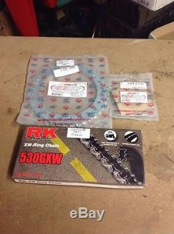 Triumph Daytona 955i Chain & Sprocket Set NEW