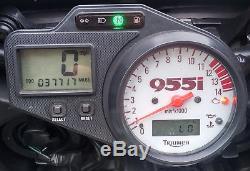 Triumph Daytona 955i FULL SERVICE HISTORY