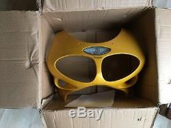 Triumph Daytona 955i Front Nose Cone Fairing Lightening yellow. T595