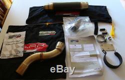 Triumph Daytona 955i High Mount GPR Exhaust Carbon Fibre Deeptone 2003 04 05 06