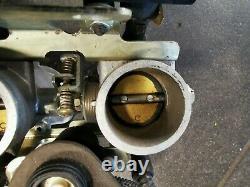 Triumph Daytona 955i RS throttle body set full with injectors